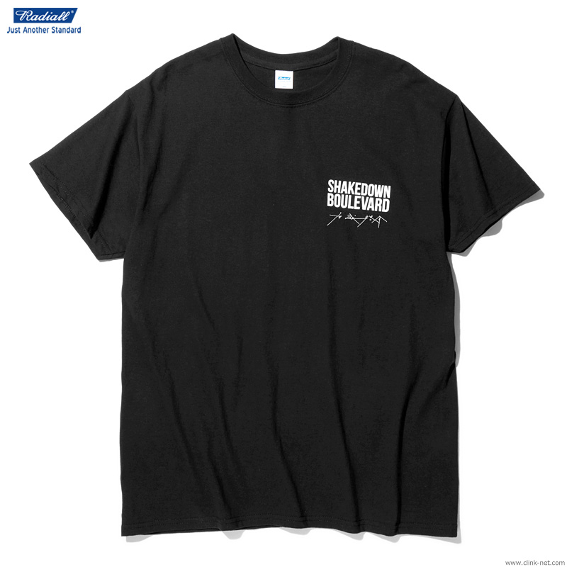 RADIALL BOULEVARD - CREW NECK T-SHIRT S/S (BLACK)
