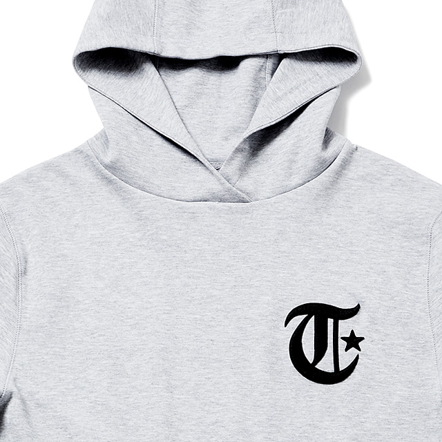 TOYPLANE S/S LEAGUE PULLOVER PARKA (GRAY) [TP18-NSW01]