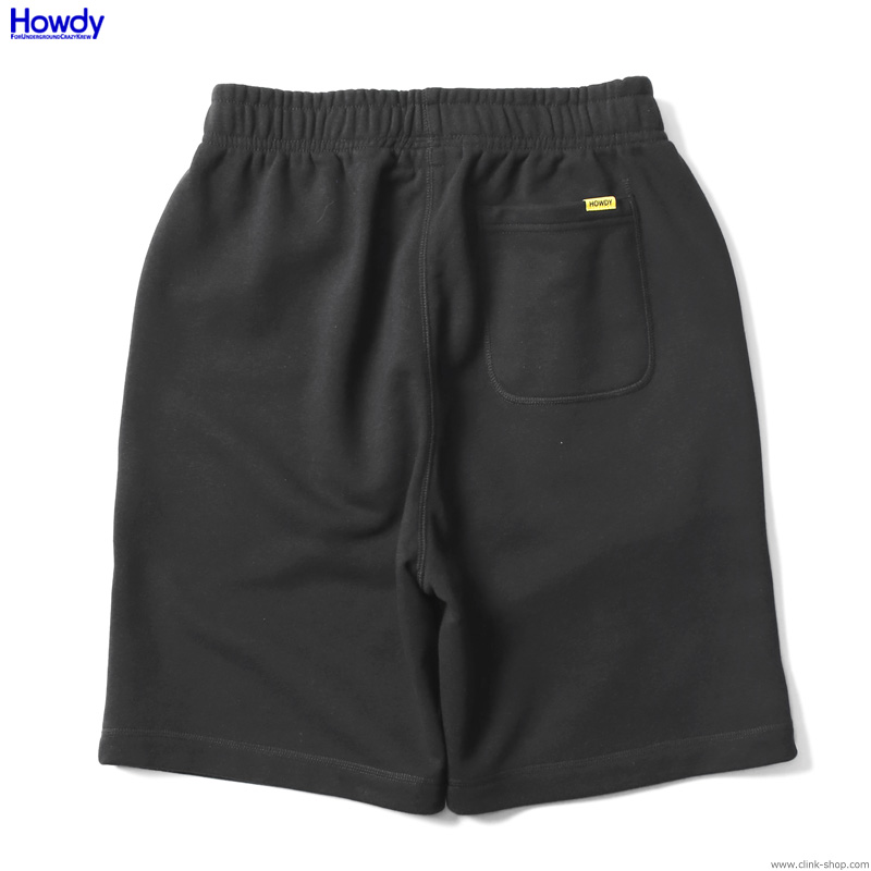 Howdy Mini Logo Shorts (BLACK) [HWD2001-SW01]