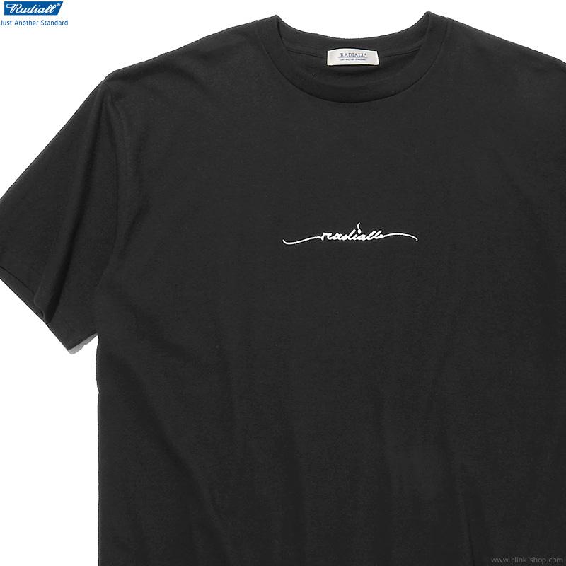 RADIALL LO-N-SLO - CREW NECK T-SHIRT S/S (BLACK)