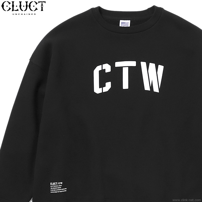 CLUCT CTW-CREW (BLACK) #03073