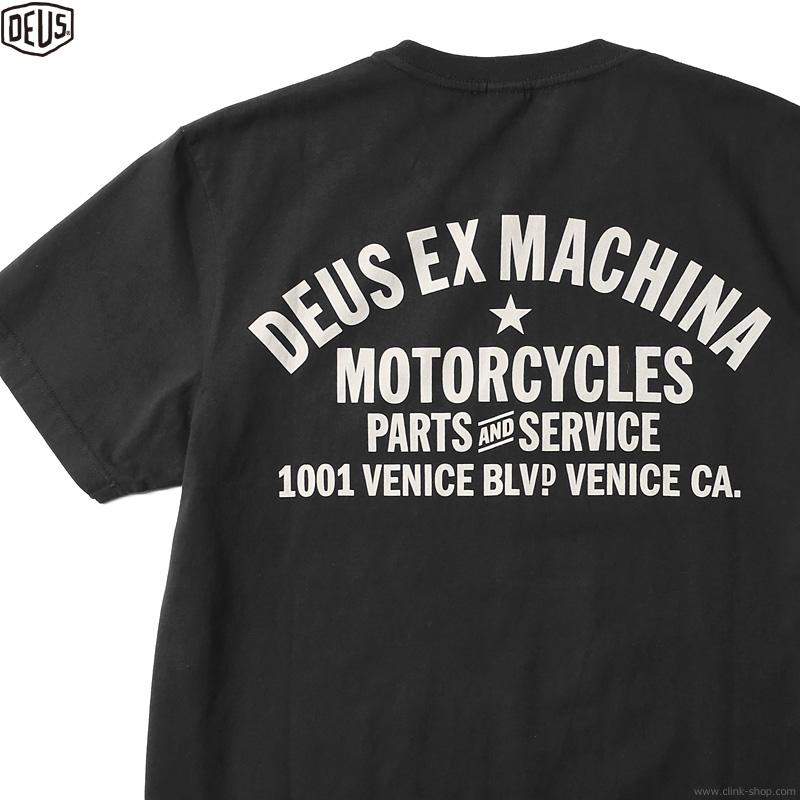 DEUS EX MACHINA VENICE ADDRESS (BLACK)