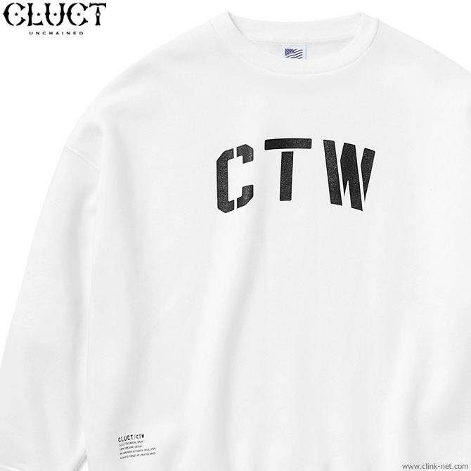 CLUCT CTW-CREW (WHITE) #03073