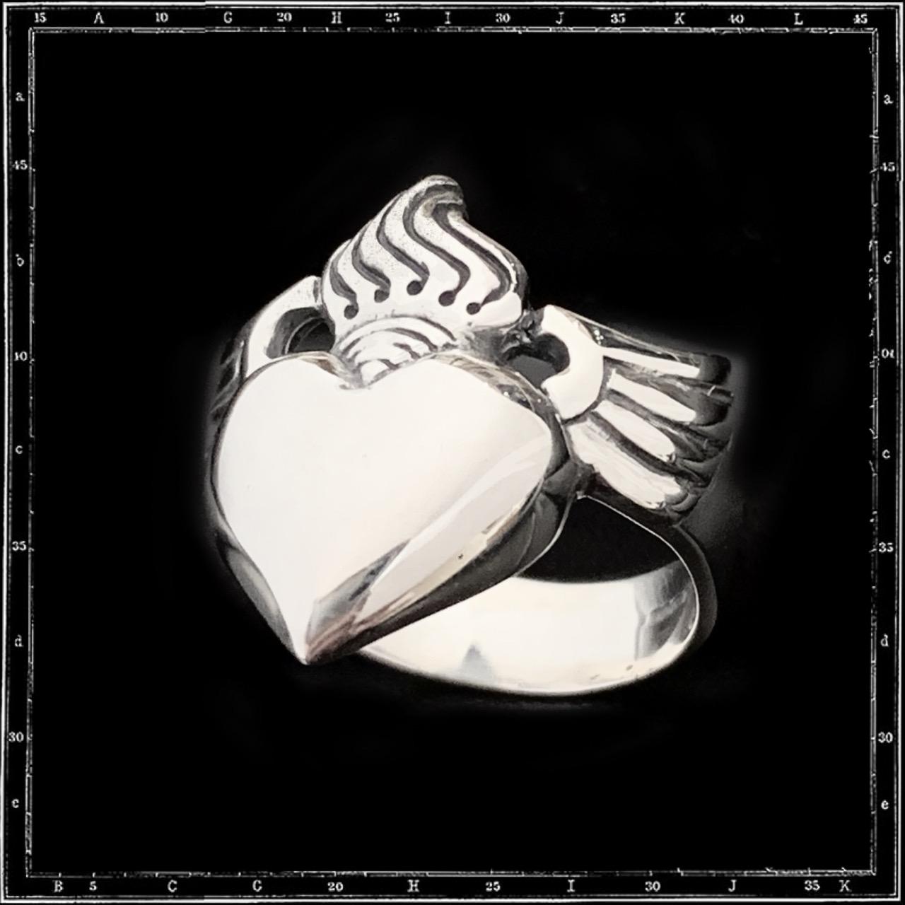 ROSARY HEART RING