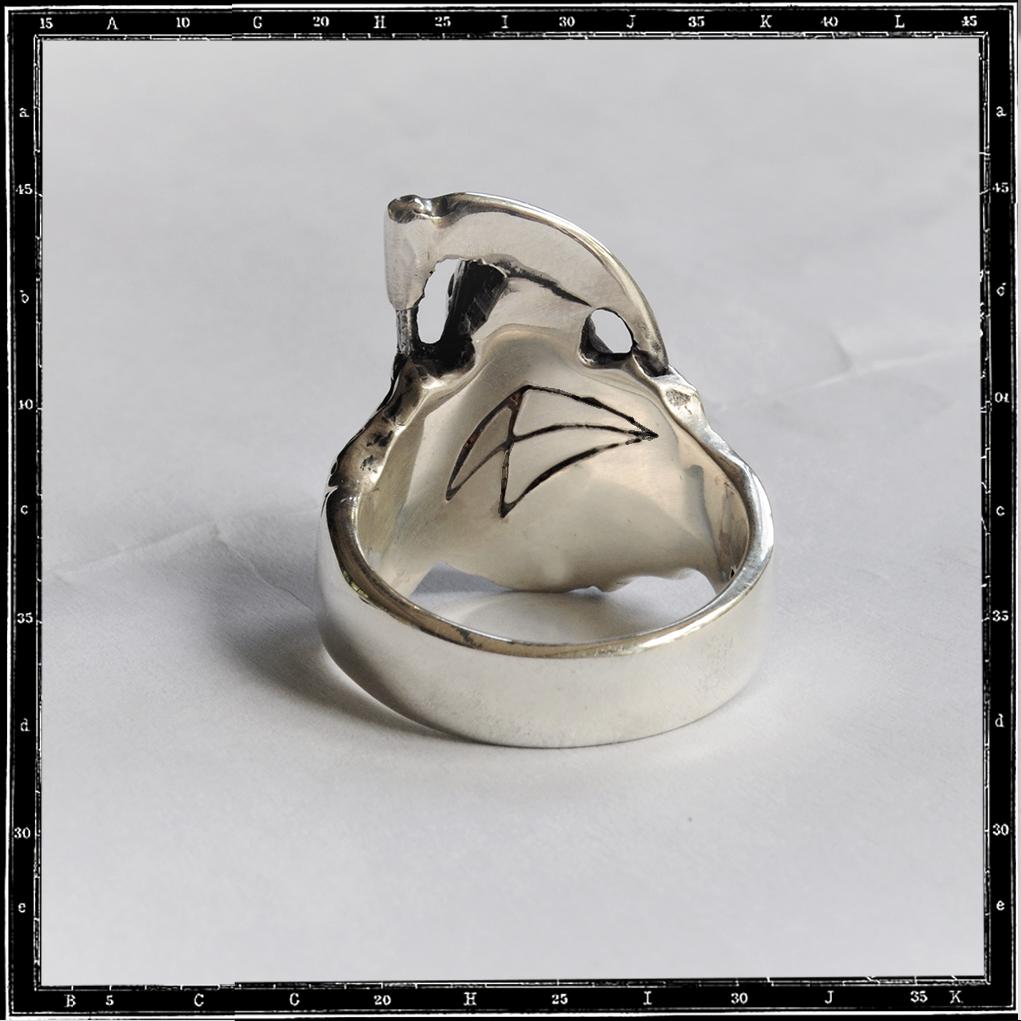 GRIM REAPER RING -SMALL