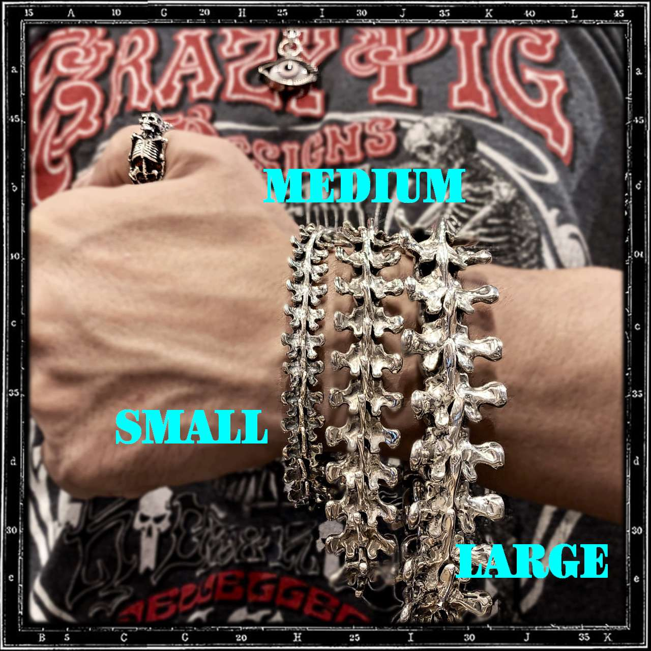 SPINE LINK BRACELET - SMALL
