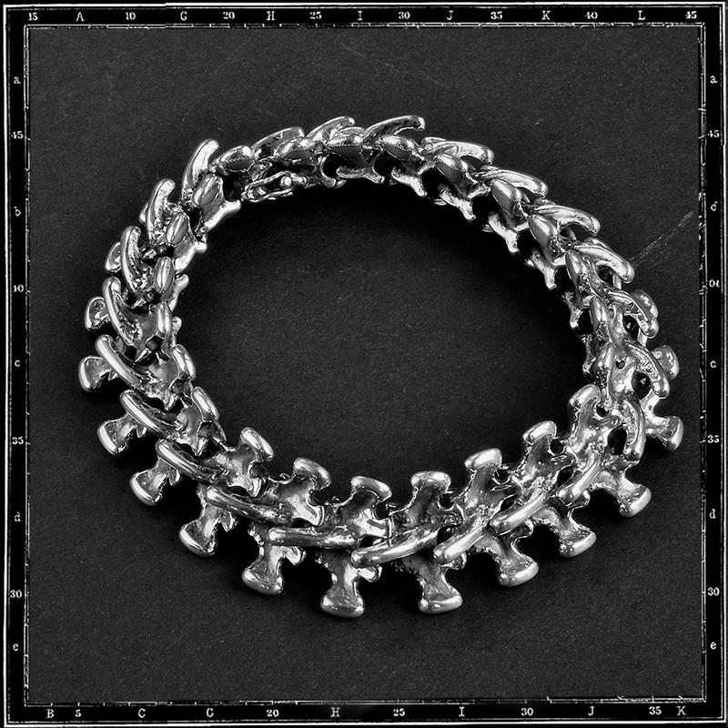 SPINE LINK BRACELET - MEDIUM