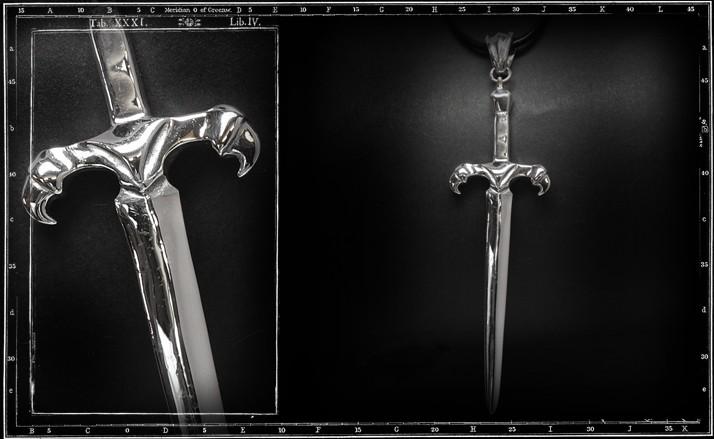 CLAW SWORD PENDANT
