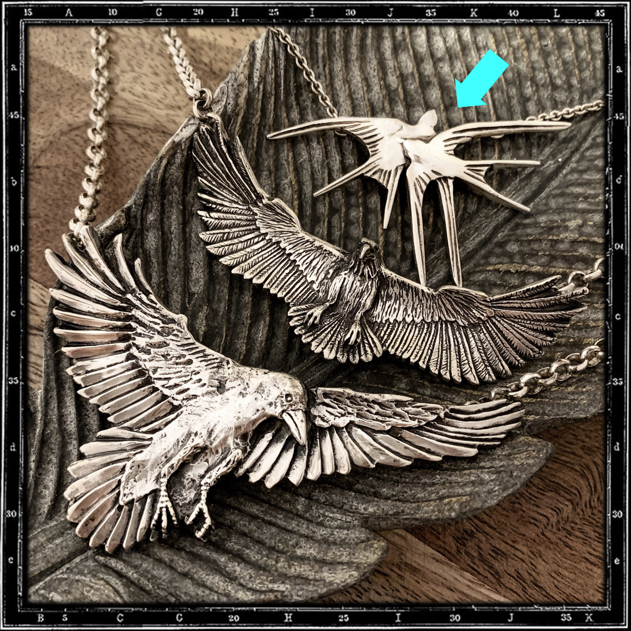 SWALLOWS NECKLACE