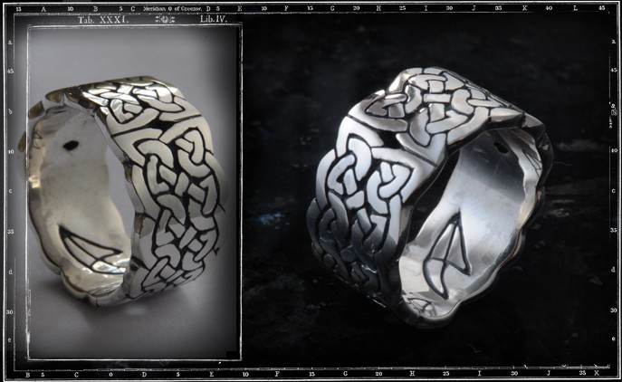 DOUBLE CELTIC BAND RING / JP12 ONLY