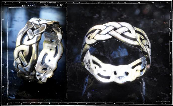 CELTIC BAND RING / JP17 ONLY