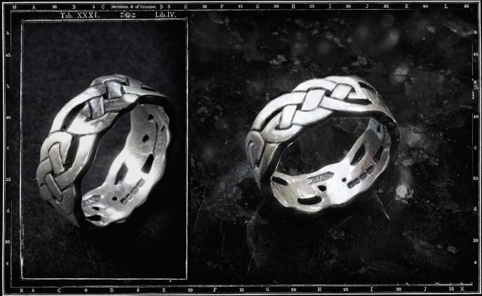 CELTIC BAND RING / JP4 ONLY