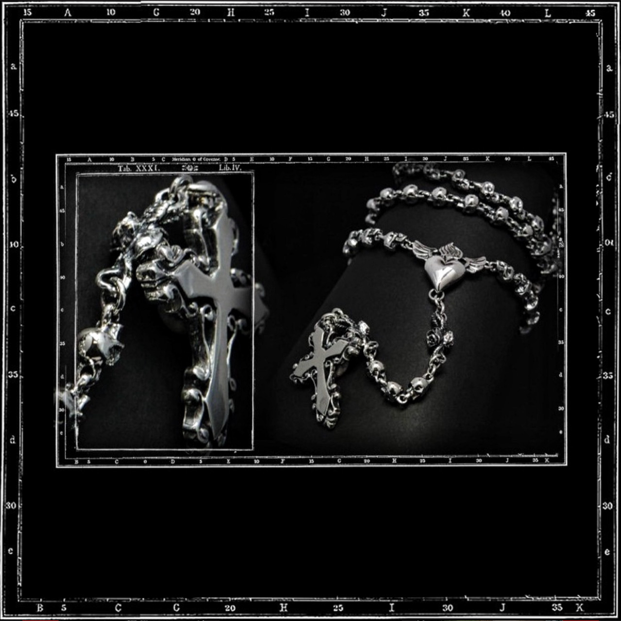 MEXICAN ROSARY NECKLACE