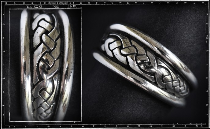 HIGH DOME CELTIC RING - SMALL