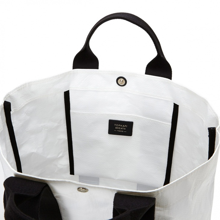 [トプカピ ブレス] TOPKAPI BREATH ポリエチレンクロス ダブル トートバッグ L Durable デュラブル