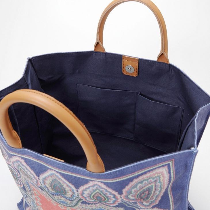 [トプカピ トレジャー] TOPKAPI TREASURE モロッコ柄 スクエア ハンドバッグ