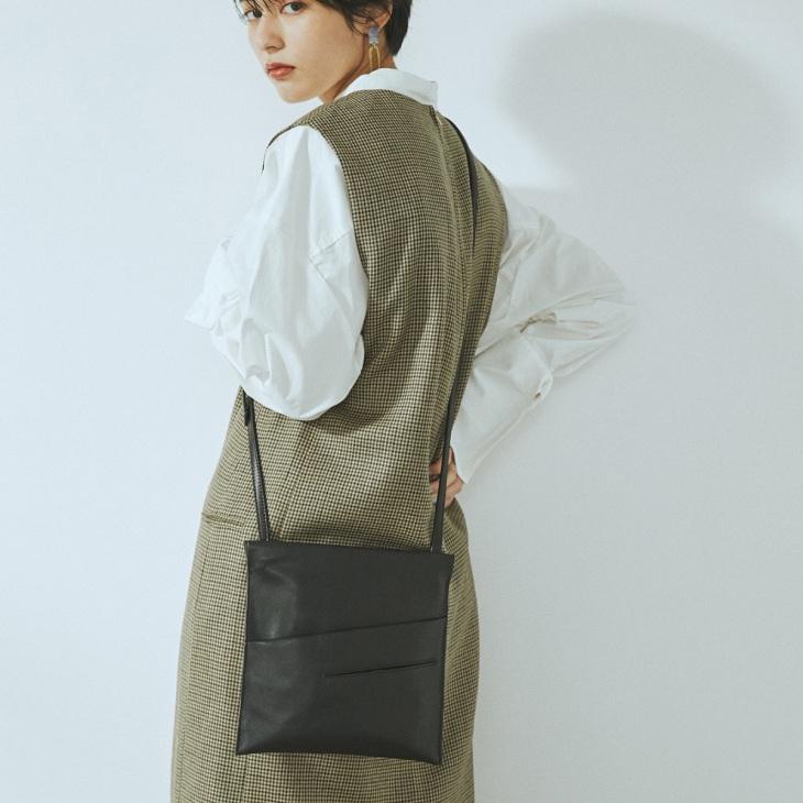 [トプカピ トレジャー] TOPKAPI TREASURE スムースフラット ショルダーバッグ