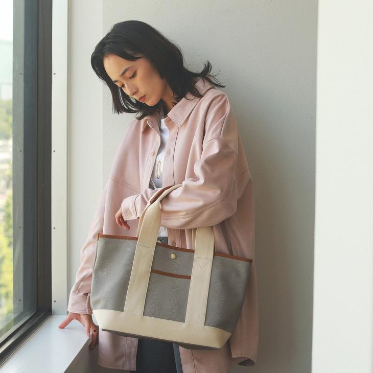 [ブレス トプカピ] Breath TOPKAPI 【販売店舗限定】スコッチグレインネオレザー トートバッグ