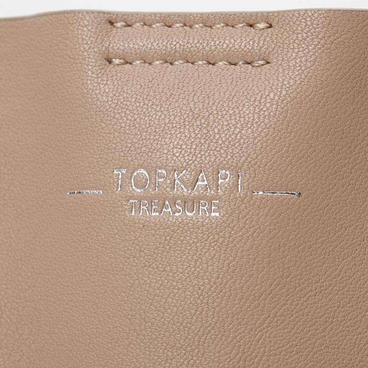 [トプカピ トレジャー] TOPKAPI TREASURE スムースレザー A4フラットトートバッグ