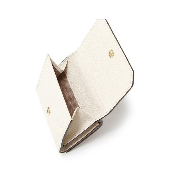[トプカピ] TOPKAPI バイカラー レザー 3つ折財布 LEAN リーン