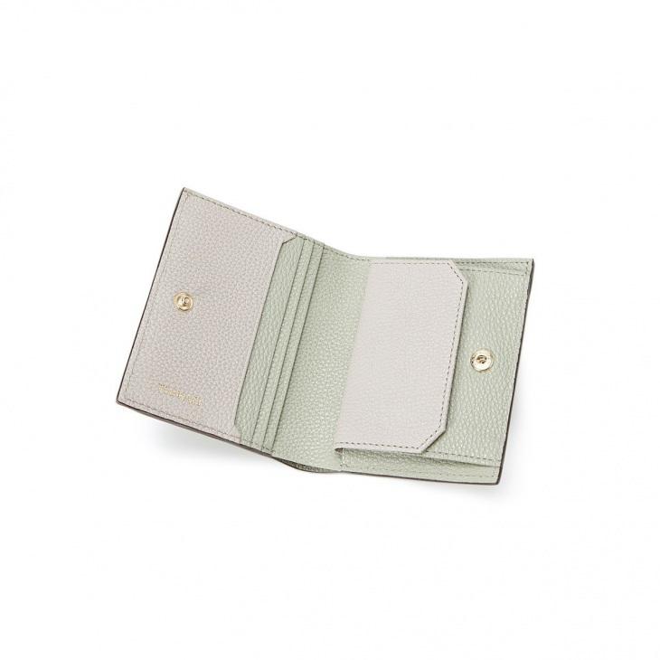 [トプカピ] TOPKAPI バイカラー レザー 2つ折財布 LEAN リーン