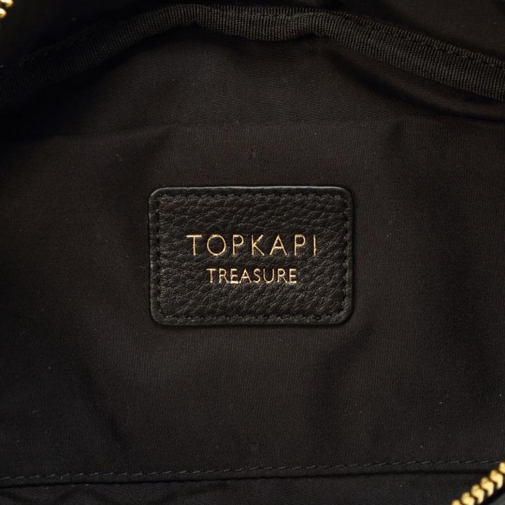 [トプカピ トレジャー] TOPKAPI TREASURE ストライプベルト・レザー2wayウエストバッグ