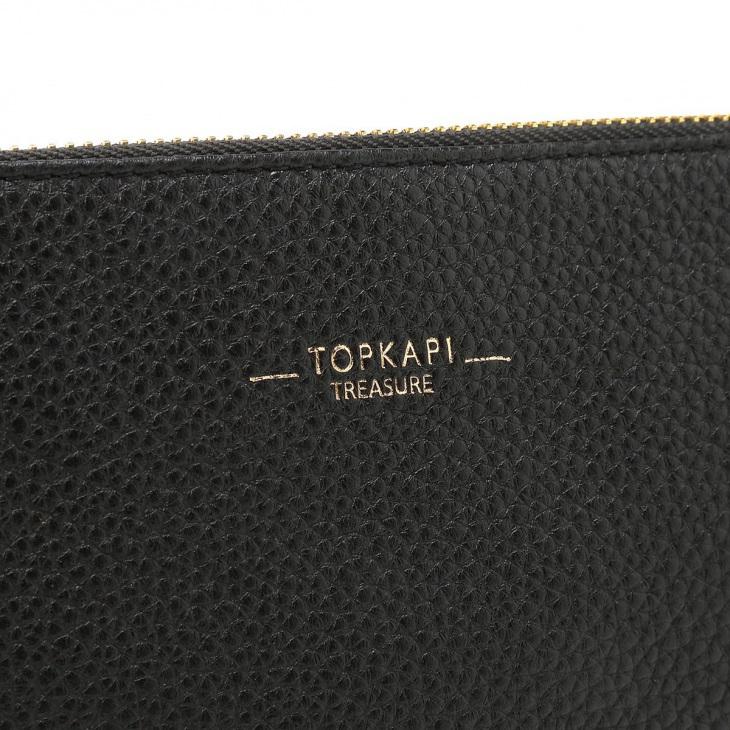 [トプカピ トレジャー] TOPKAPI TREASURE ストライプベルト・レザー2wayショルダーバッグ