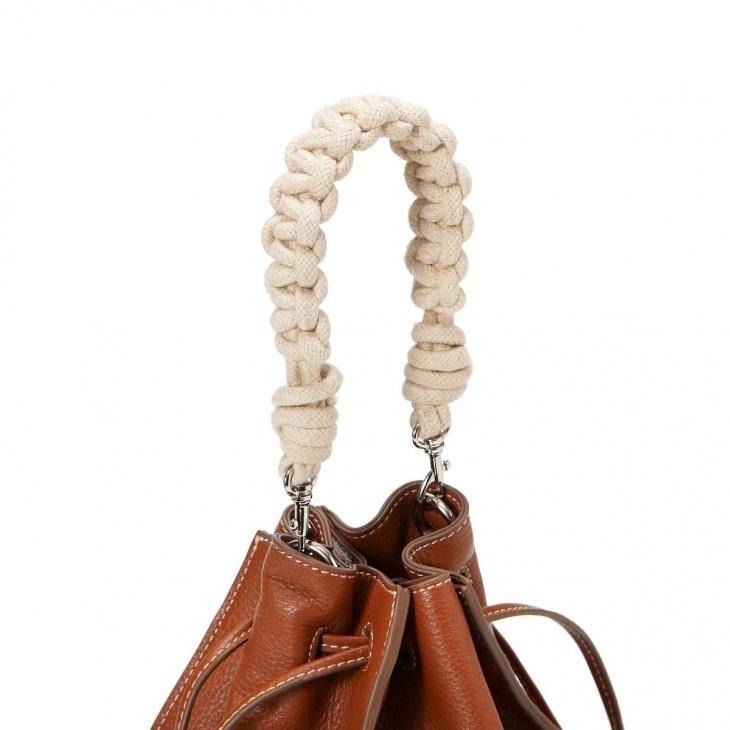 [トプカピ トレジャー] TOPKAPI TREASURE ロープハンドル巾着 2way ショルダーバッグ
