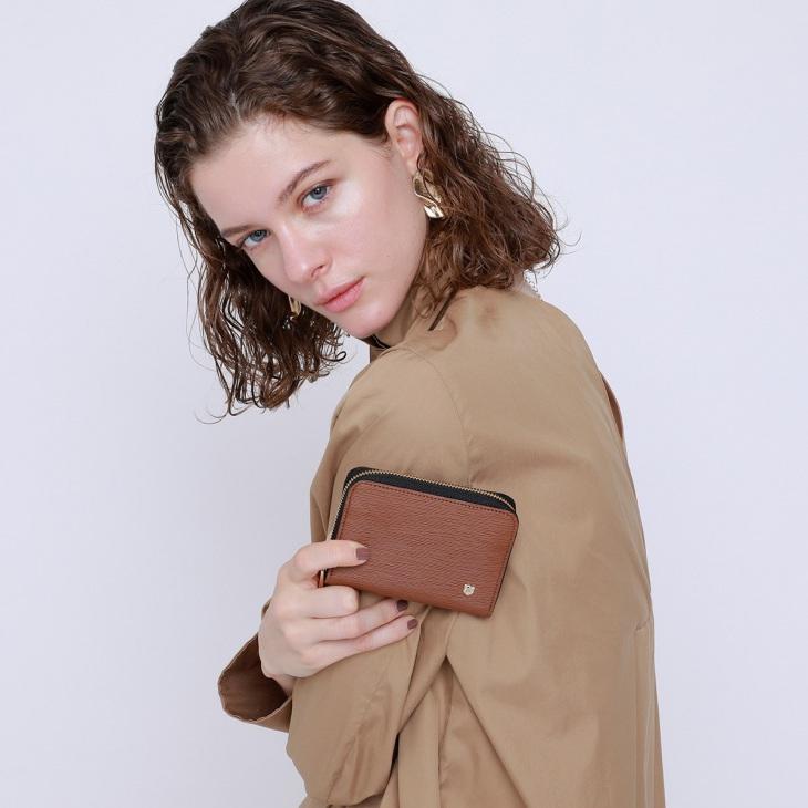 [トプカピ] TOPKAPI エンボスレザーミニ財布 SPIGA スピーガ