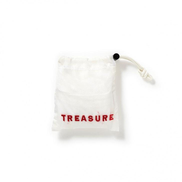 [トプカピ トレジャー] TOPKAPI TREASURE 刺繍入り ナイロン エコバッグ