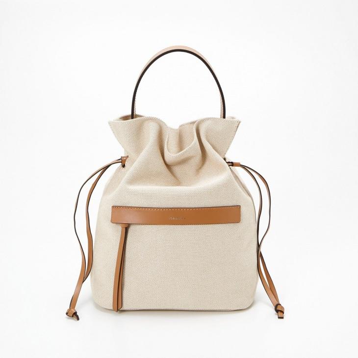 [ロリステラ] LORISTELLA ワンハンドル巾着キャンバスバッグ