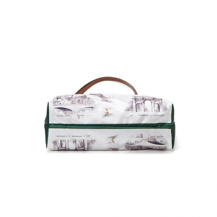 [トプカピ トレジャー] TOPKAPI TREASURE スカーフ パネル柄 トート バッグ