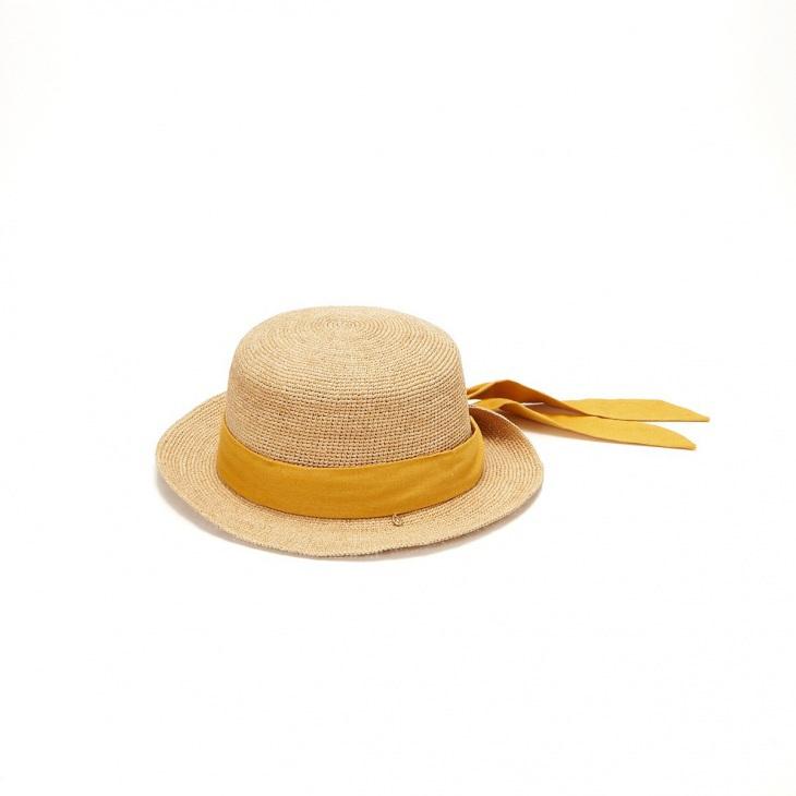 [トプカピ トレジャー] TOPKAPI TREASURE ラフィアカンカン帽