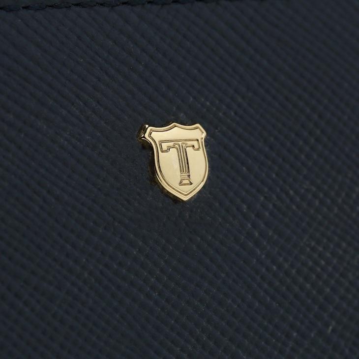 [トプカピ] TOPKAPI 角シボ型押し・お財布ショルダーバッグ CLASSICO クラシコ