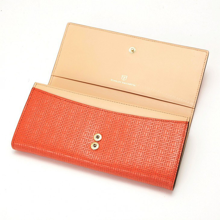 [トプカピ] TOPKAPI メッシュ柄型押し・長財布 RITMO リトモ