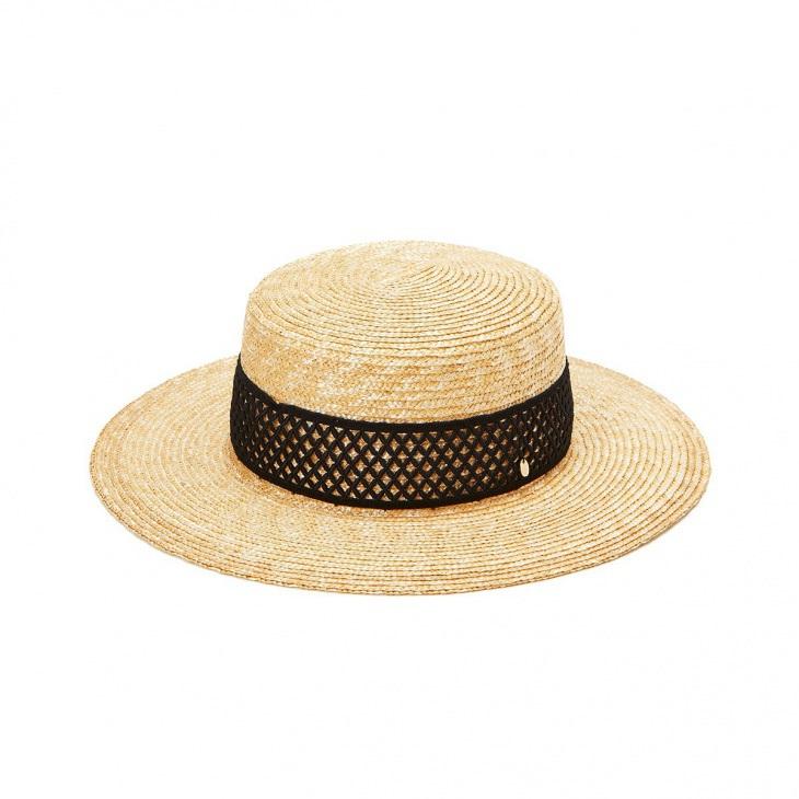 [トプカピ トレジャー] TOPKAPI TREASURE レーステープ ストローカンカン帽