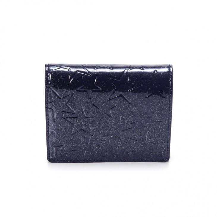[トプカピ] TOPKAPI エナメル二つ折り財布 Sparkle Star スパークルスター