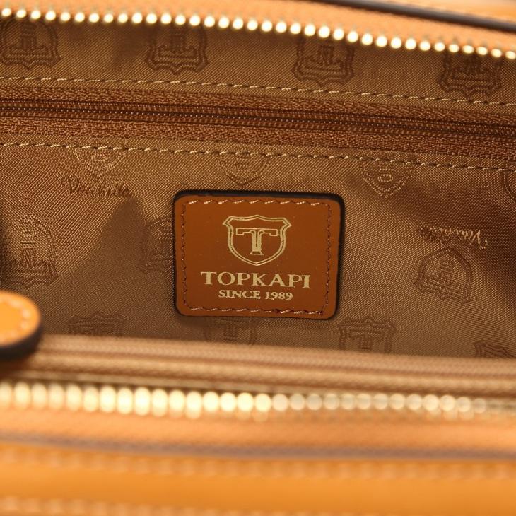 [トプカピ] TOPKAPI モザイクエンボスレザー2wayボックスバッグ MOSAICO モザイク