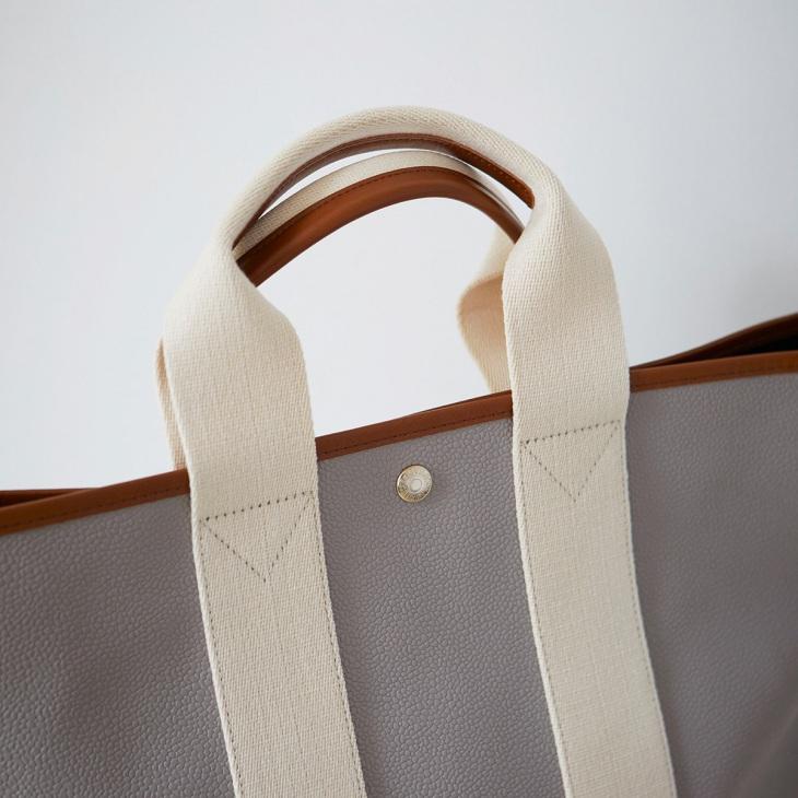 [トプカピ ブレス] TOPKAPI BREATH スコッチグレインネオレザー A4トートバッグ