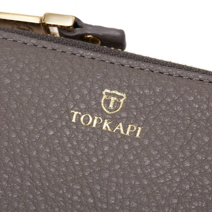 [トプカピ] TOPKAPI ソフトシュリンクレザー パスケース付きミニ財布 LIBERO リベロ