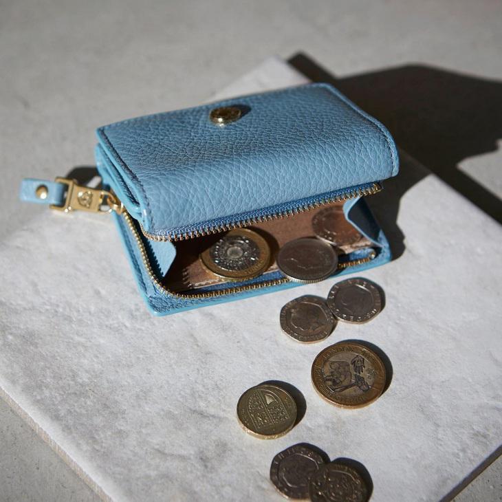 [トプカピ] TOPKAPI ソフトシュリンクレザー 三つ折り財布 LIBERO リベロ