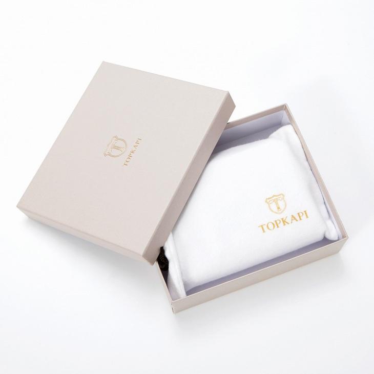 [トプカピ] TOPKAPI クロコ型押しレザー ラウンドファスナー折財布 COCCO コッコ