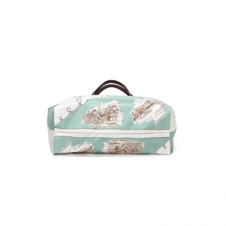 [トプカピ トレジャー] TOPKAPI TREASURE スカーフ パネル柄 トートバッグ