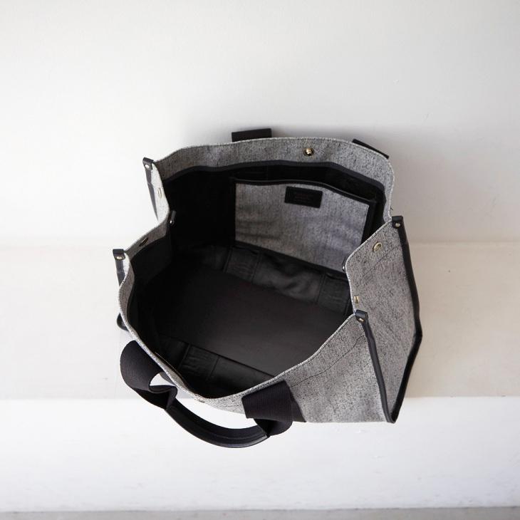 [トプカピ ブレス] TOPKAPI BREATH コットン キャンバス 2WAY トートバッグ TRIM トリム