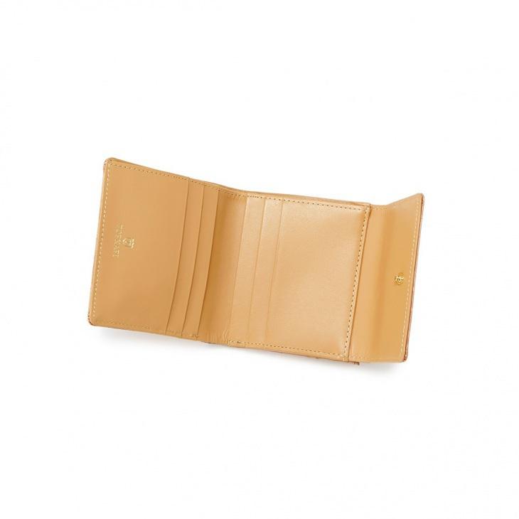 [トプカピ] TOPKAPI エナメルクロコ型押し・がま口折り財布 COCCO VERNICE コッコ ベルニーチェ