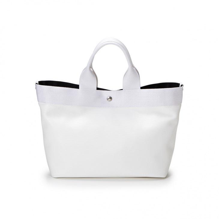 [ブレス トプカピ] Breath TOPKAPI 【5th限定】リプル ネオレザー A4 トートバッグ Pure White