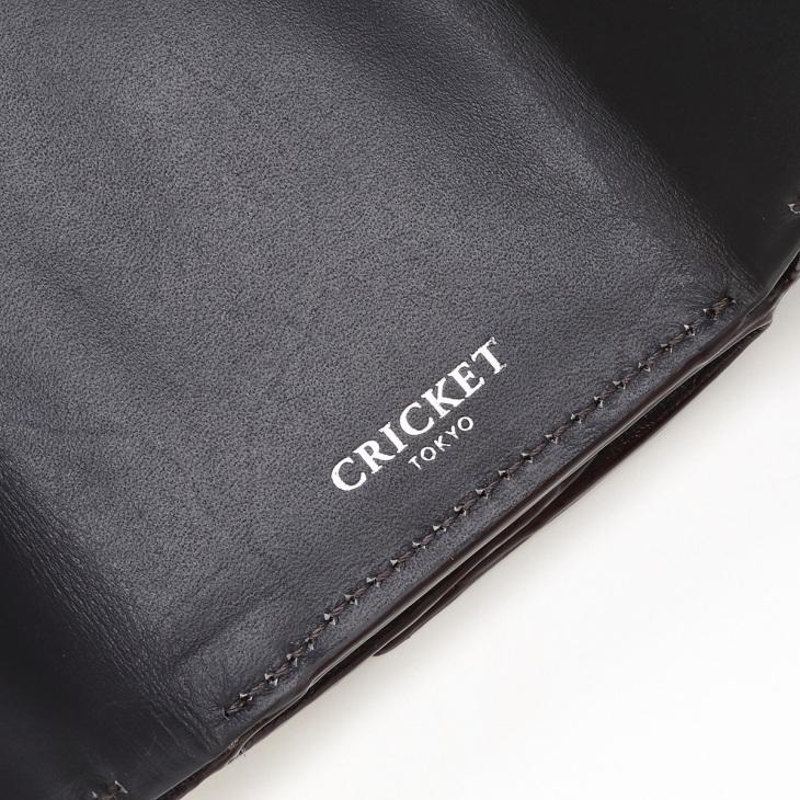 [クリケット] Cricket クロコ型押し マティスラックス 三つ折り ウォレット グレージュ
