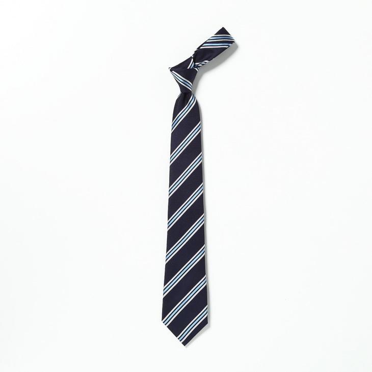 [アトリエF&B] AtelierF&B ストライプ柄 ネクタイ フランス製 コン