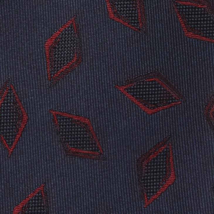 [クリケット] Cricket イタリア製生地 綾織り ヴィンテージ調柄 ネクタイ Noble ノーブル コン