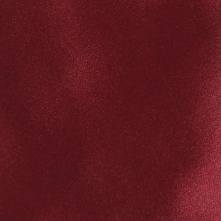 [クリケット] Cricket イタリア製生地 高密度サテン織り 無地 ネクタイ Noble ノーブル ダークワイン
